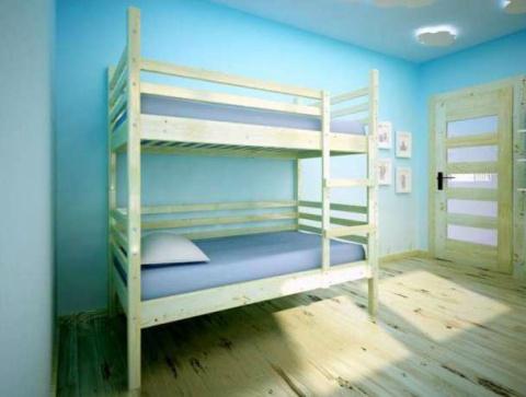 łóżko Piętrowe Dla Dzieci Kinga 2x Materac